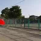 Walking in the sun (Bukhara) by Marjolein Katsma