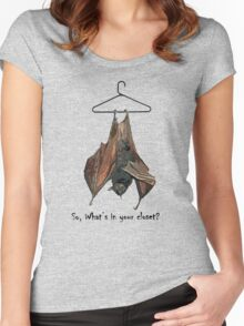 So, What's in you're closet? Women's Fitted Scoop T-Shirt