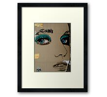 face it Framed Print