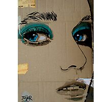 face it Photographic Print