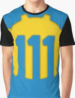 Vault 111 Logo Graphic T-Shirt
