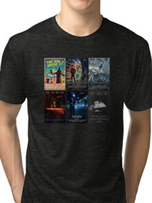 Black Box Films Poster Collage Tri-blend T-Shirt