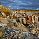 Rocky Foreshore Barwon Heads by Stephen Ruane