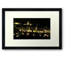 Zurich - Small great city Framed Print