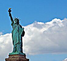 Lady Liberty, NY by Karen Checca