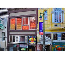 North Beach Fortune Teller Photographic Print