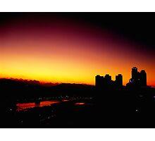 Sunset of Busan  Photographic Print