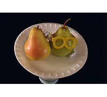 Pear Parody .07 Photographic Print