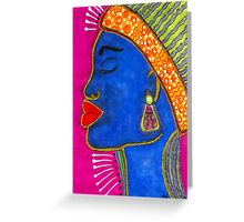 Color Me VIBRANT Greeting Card Greeting Card
