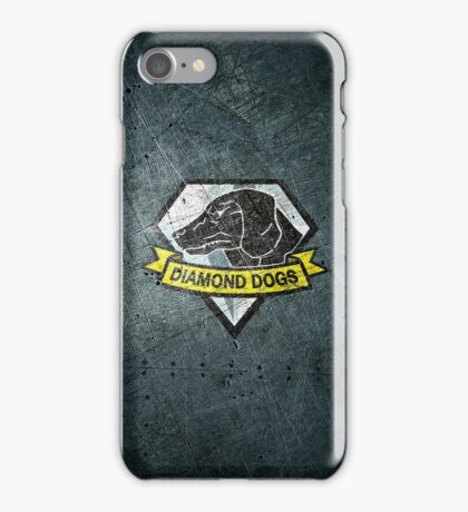 Diamond Dogs Emblem iPhone Case/Skin