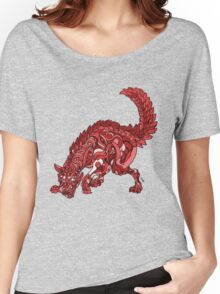 Red Wolf Women's Relaxed Fit T-Shirt