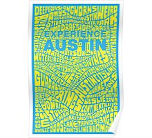 Experience Austin Poster  Poster