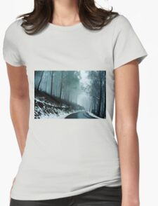 0233  Into a cold dark place   [e] Womens Fitted T-Shirt