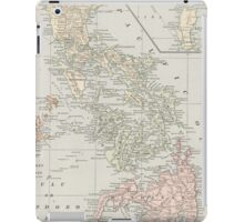 Vintage Map of The Philippine Islands (1901) iPad Case/Skin