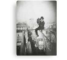 Photographing NYC Above 5th Avenue (1905) Metal Print