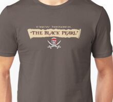 Pirates of the Caribbean Crew Member T-Shirt Unisex T-Shirt