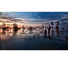 Menindee, the Transition Photographic Print