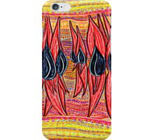 Desert Pea Design iPhone Case/Skin