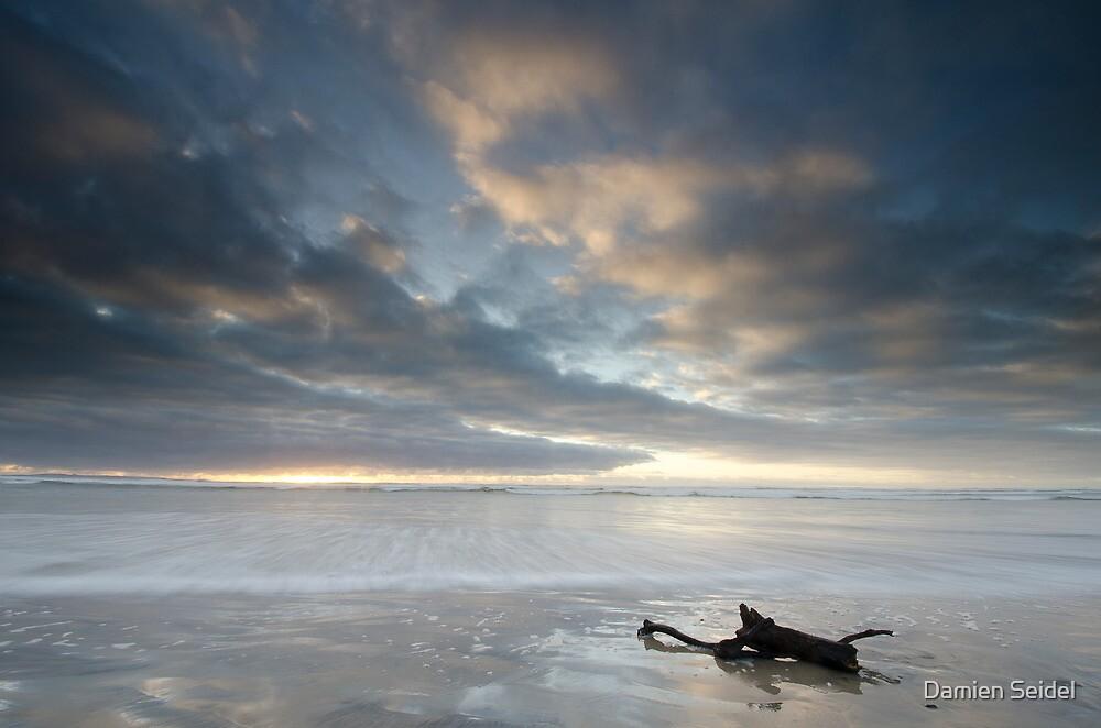 Ocean Beach, Tasmania by Damien Seidel