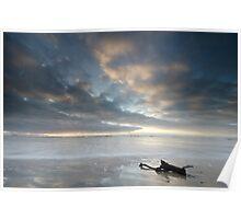 Ocean Beach, Tasmania Poster