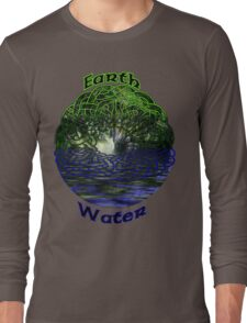 Celtic Earth and Water Shirt Long Sleeve T-Shirt