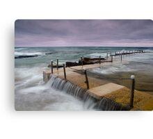 Avalon Beach Tidal Pool Canvas Print
