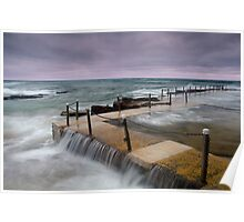 Avalon Beach Tidal Pool Poster