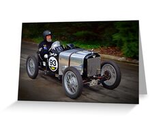 Austin 7 1930 Greeting Card