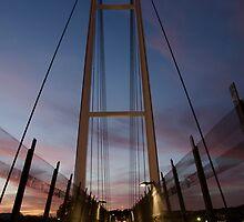 Dean Street Foot Bridge by Damien Seidel