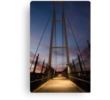 Dean Street Foot Bridge Canvas Print