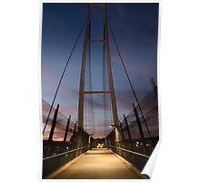 Dean Street Foot Bridge Poster