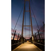 Dean Street Foot Bridge Photographic Print