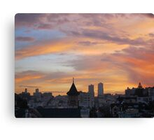 San Francisco Morning  Canvas Print