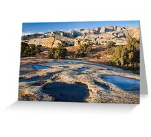 Potholes & Cliffs Greeting Card