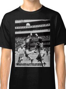 la Mano de Dios Classic T-Shirt