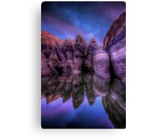 Twilight Sneak Canvas Print