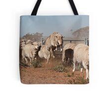 Sheep Olympics Tote Bag