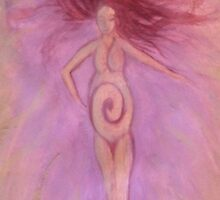 Birth Goddess by unfurlings