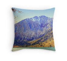 """Mount Morrison"" Throw Pillow"