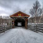 Fitch Bay Covered Bridge by Sylvain Dumas