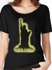 New York Vintage T-Shirt Women's Relaxed Fit T-Shirt