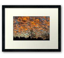Issaquah Sunrise1 Framed Print