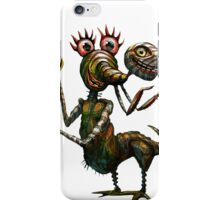 Striped Turtle-Nosed Marshmallow Mantis iPhone Case/Skin