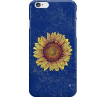 Swirly Sunflower iPhone Case/Skin