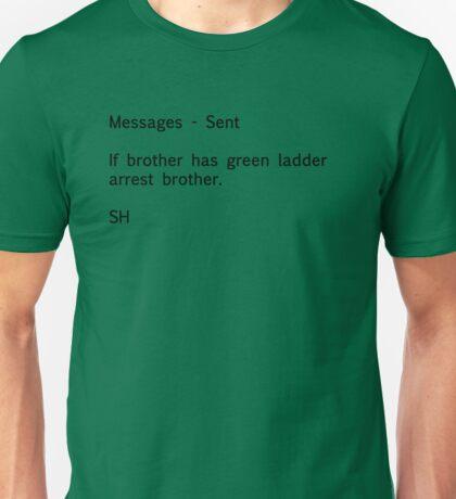 Sherlock Messages (Black) T-Shirt