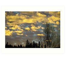 Issaquah Sunrise2 Art Print