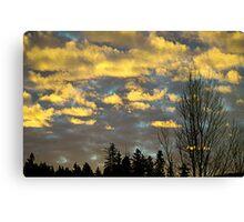 Issaquah Sunrise2 Canvas Print