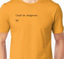 Sherlock Messages - 6 (Black) Unisex T-Shirt