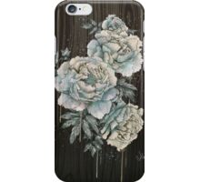 Peony wood iPhone Case/Skin