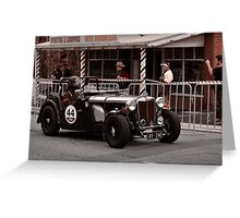 MG TC Holden Special 1947 Greeting Card